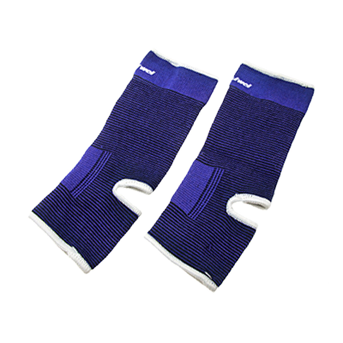 Elastic Ankle Supporter Band Pad Brace Protector Blue