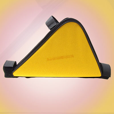 Mountain Cycling Bike Bicycle Triangle Frame Bag Yellow