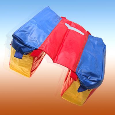 New Colorful Plastic Double Kids Children Bicycle Bike Saddle Bag