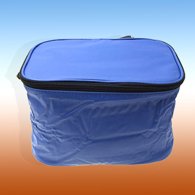 New Folding Drink Lunch Bike Bicycle Rack Insulated Bag Blue