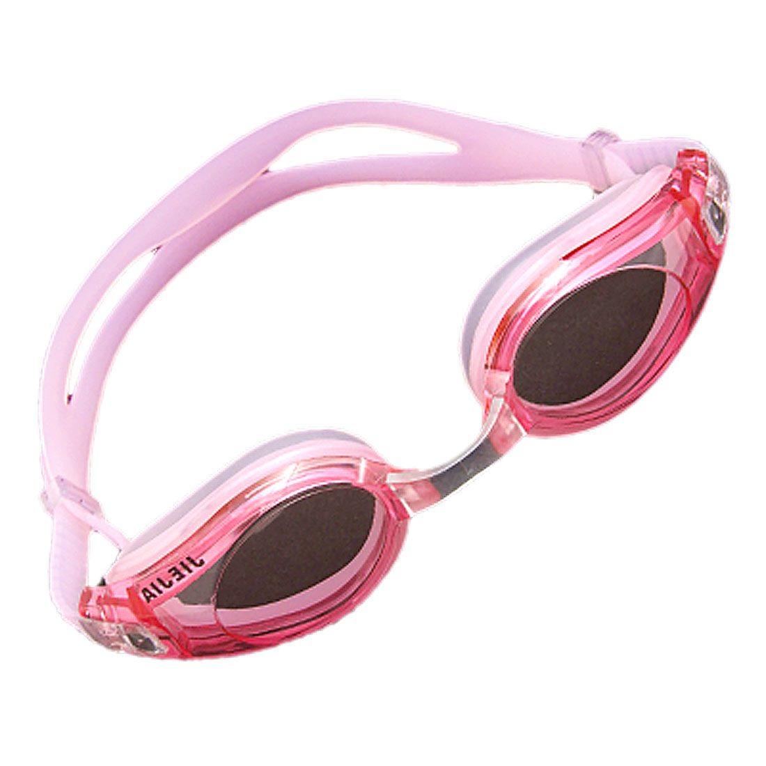 New Silicone Swim Swimming Pool Goggles Anti Fog Pink