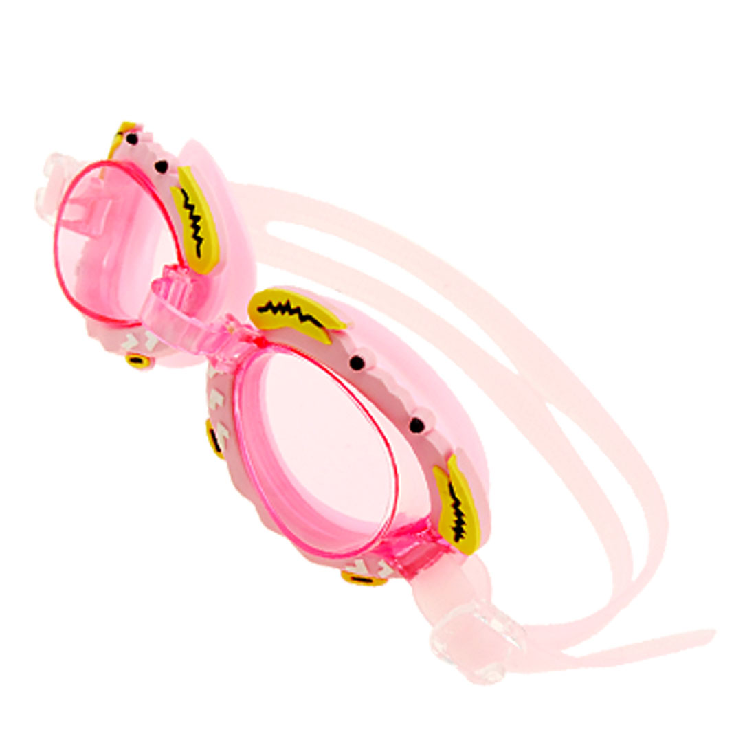 Lovely Crab Kids Children Swim Swimming Pool Goggles Pink