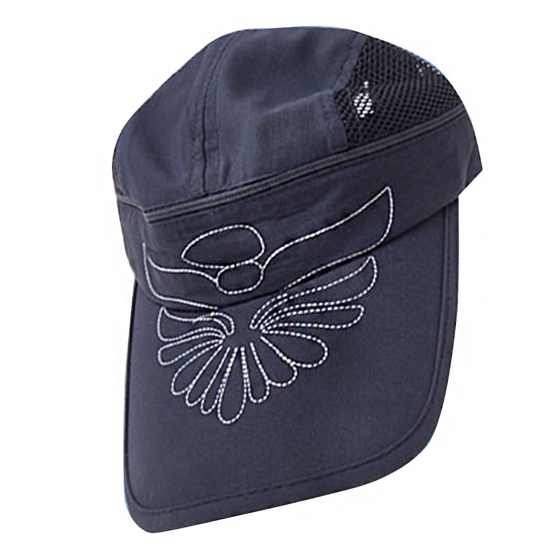 New Flower Baseball Mesh Trucker Hat Sun Visor Cap Blue