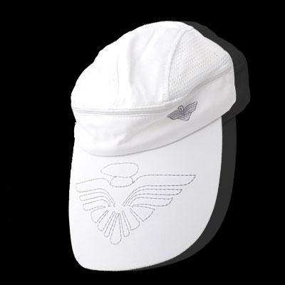 Flower Sun Visor Mesh Trucker Hat Baseball Cap White