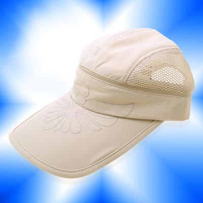New Flower Baseball Mesh Trucker Hat Sun Visor Cap Khaki