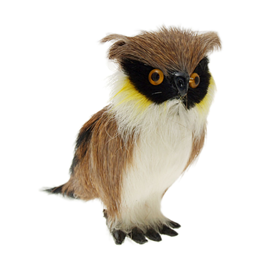 Furry Owl Animal Office Ornament Decoration Gift
