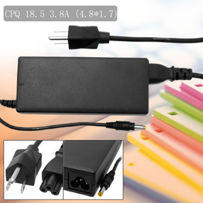 US Plug Power Cord 100-240V Laptop AC Adapter for Compaq Armada 110 E500 ( PP1006 )