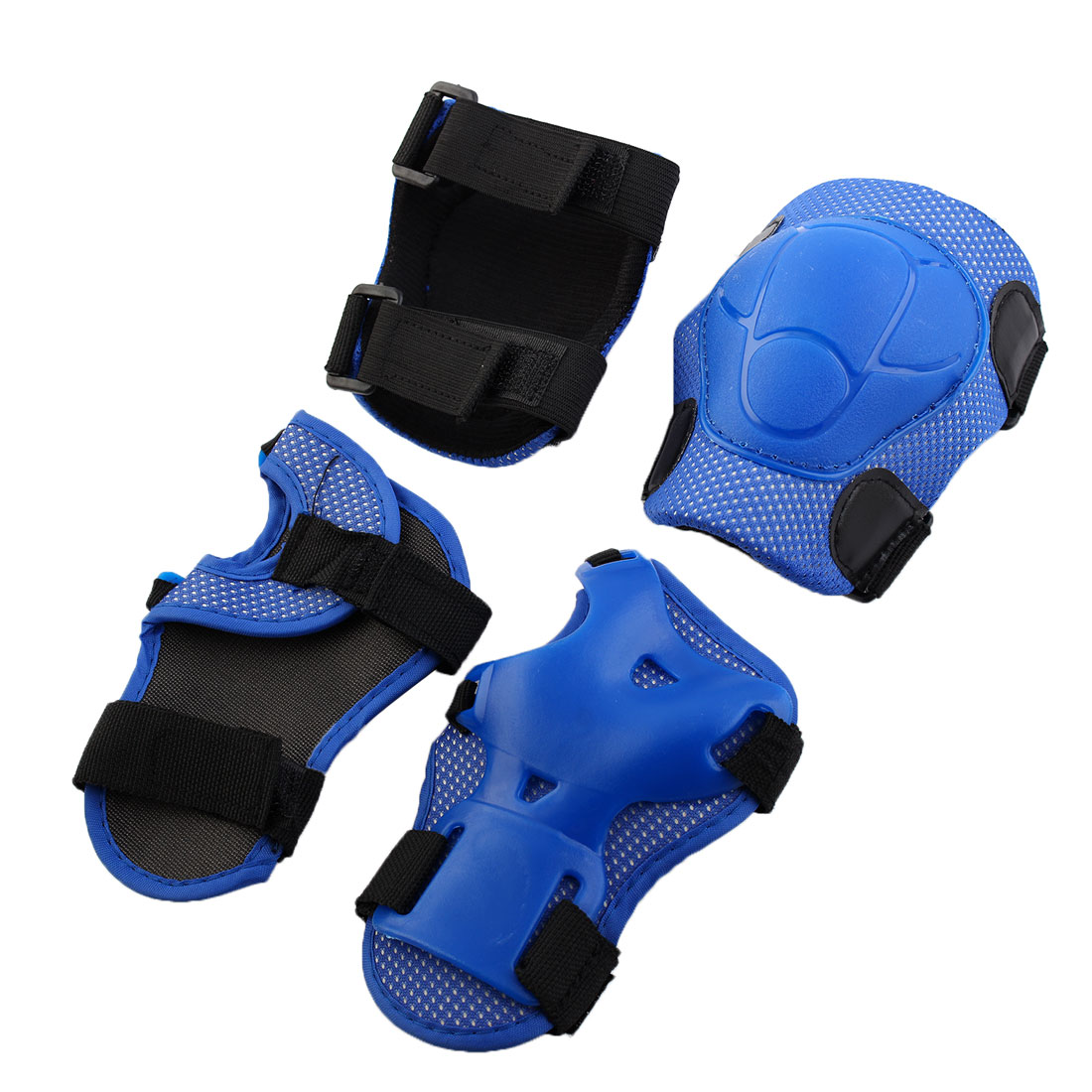 Blue Children Knee and Elbow Pad for Cycling Roller Skating