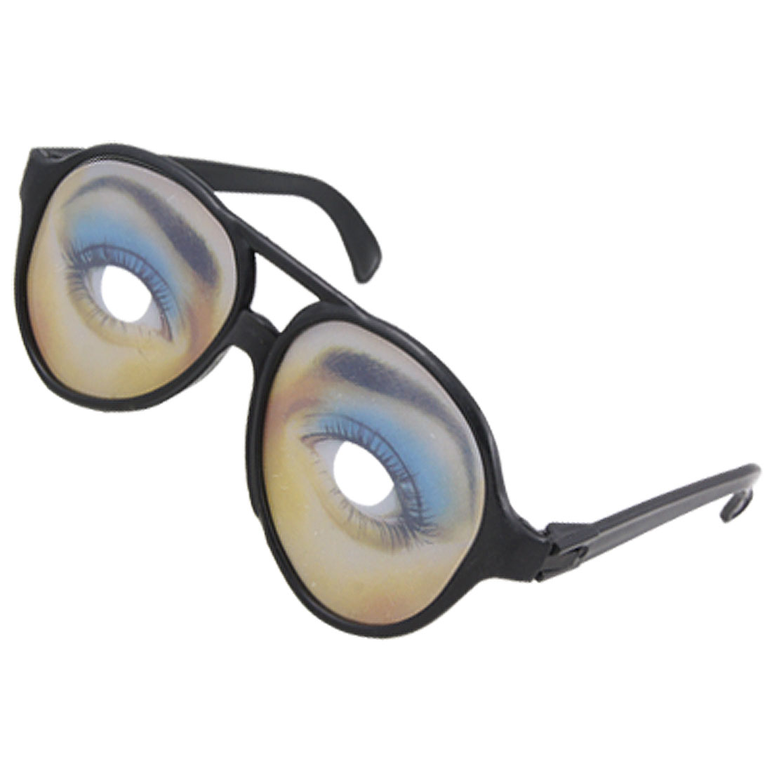 Funny Plastic Poker Glasses Ladies Eye Pattern