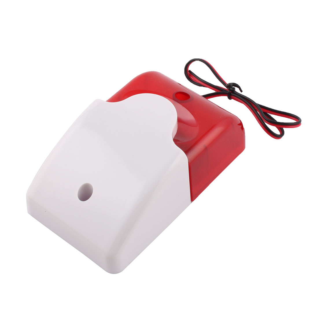 Mini 12 Volt Security Wired Flash Replacement Alarm LED Strobe Siren Light