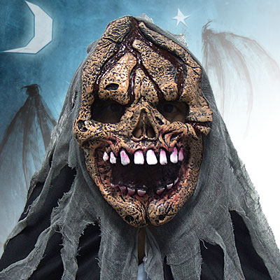 New Scary Grin BEelzebub Latex Halloween Costume Mask Prop