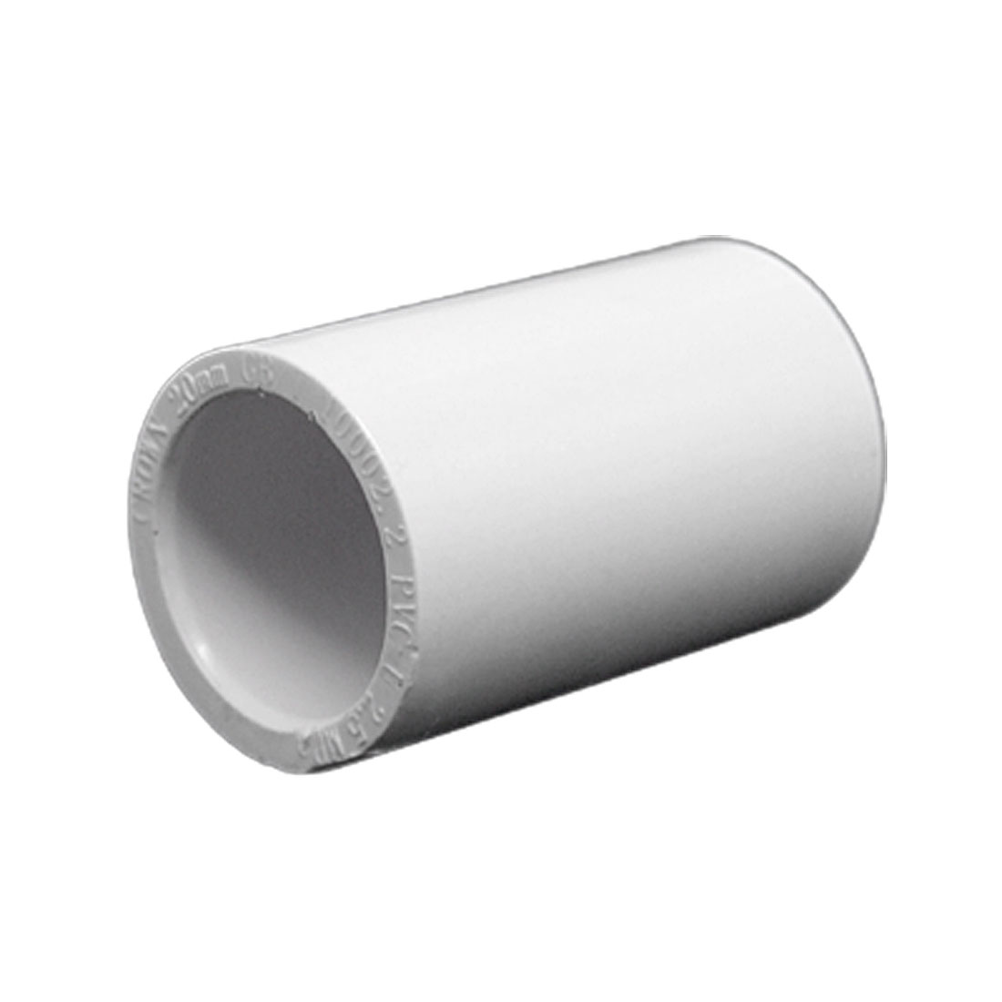 20mm PVC-U Equal Straight Adaptor Non-toxic Drinking Water Pipe Fitting White
