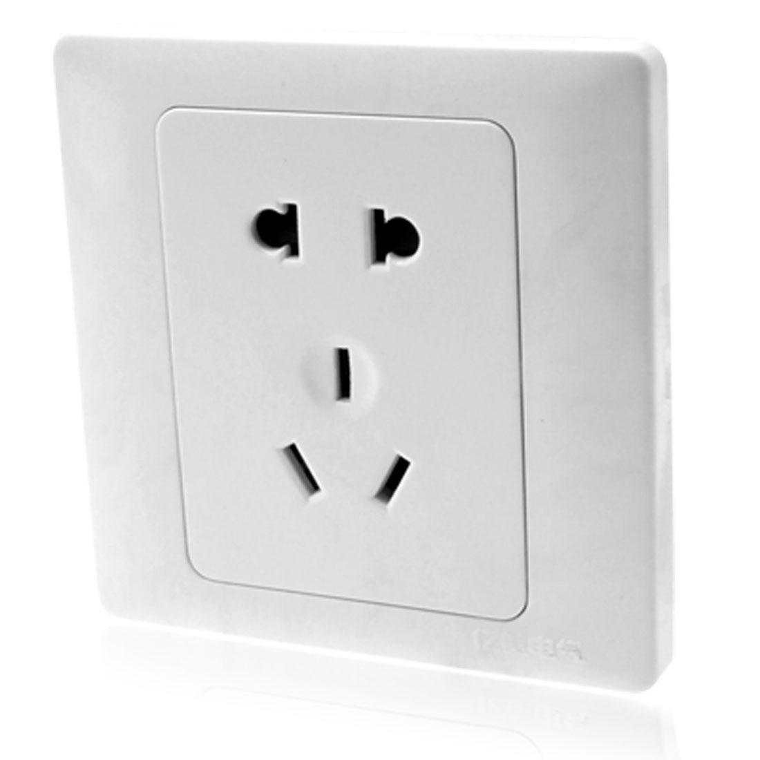 AU EU US Plug AC250V 10A Adapter Electric Socket Outlet Wall Plate