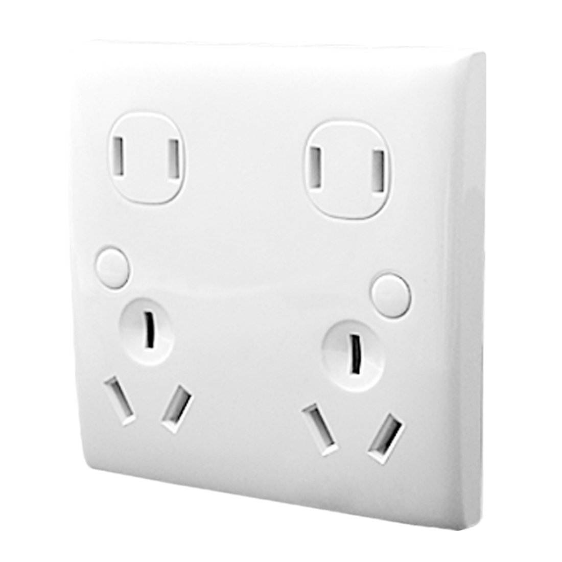 10A 250V US AU Socket Outlet Wall Plate