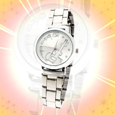 Luxurious Fashion Jewelry Metal Band Wrist Man Watches Silver