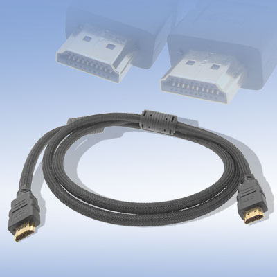 HDMI to HDMI Cable with Net Jacket for Xbox 360 HDTV DVD 1.5M