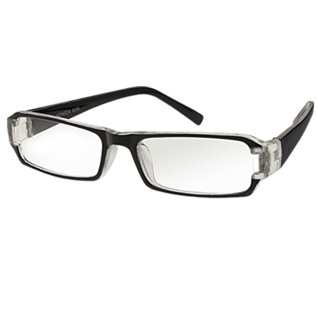 Black Frame Clear Lens Cool Glasses for Young People