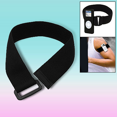 Sports Jogging Strap Hook Loop Fastener Armband for iPhone iPod Nano