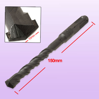 150mm Long Taper Drill Shank Spur Drill Bit (Diameter 10mm)
