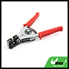 Wire Coax Cable Stripper Plier Tool with Red Squeeze Handle