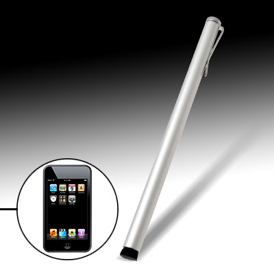 Soft Touch Stylus for Apple iPhone and iPhone 3G Silvery