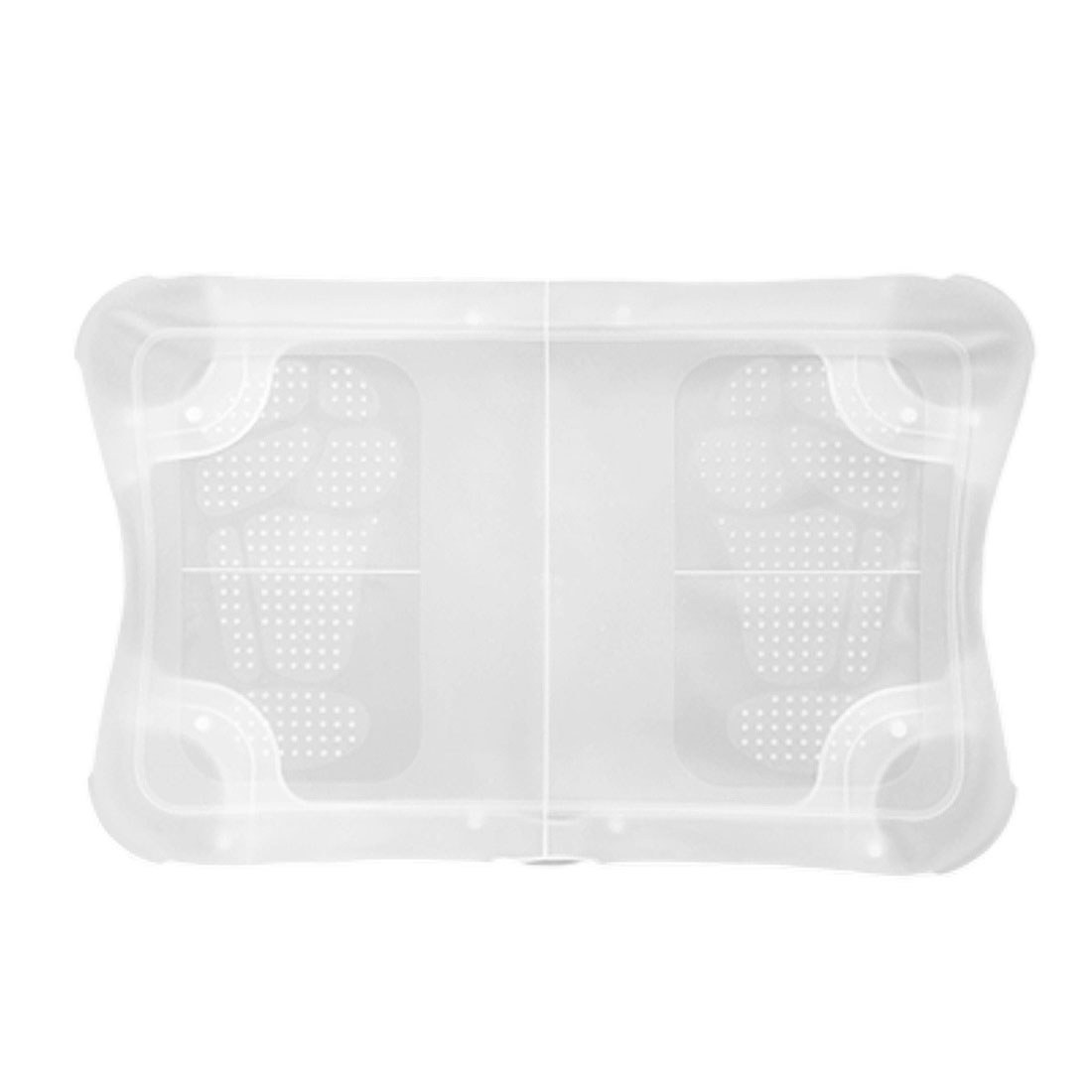 Silicone Skin Case for Wii Fit Balance Board Skin Clear White