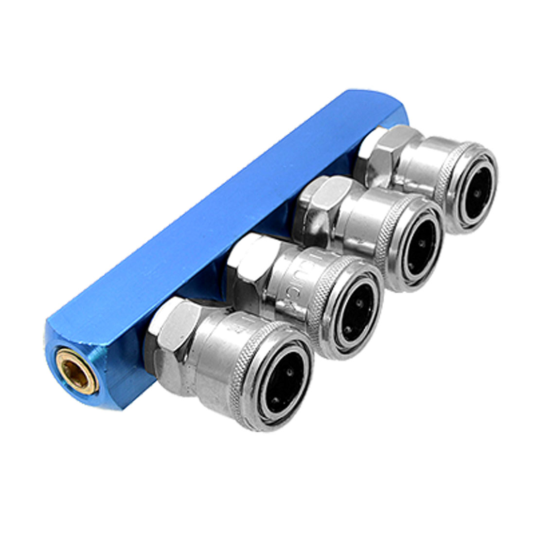 4 Way Pass Quick Connect Coupling Air Hose Coupler Tool