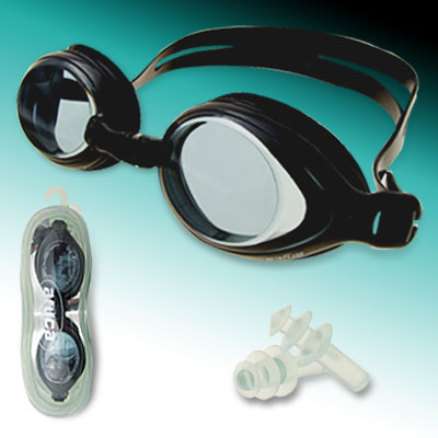 High-qualified Swimming Pool Swim Goggles Anti Fog of Black Color