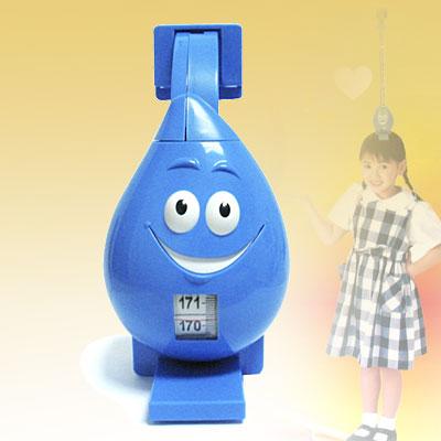 Blue Cartoon Retractable Tape Measure Ruler