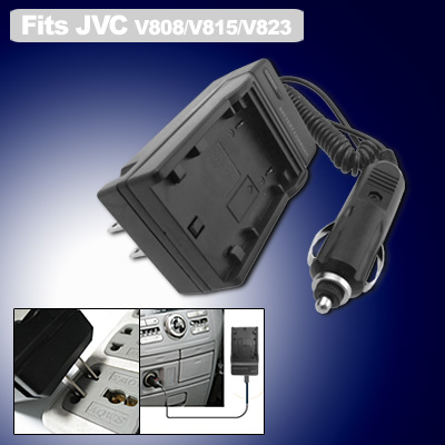 US Plug 100V-240V Digital Camera Battery Charger for JVC BN-VF808 BN-VF815 BN-VF823