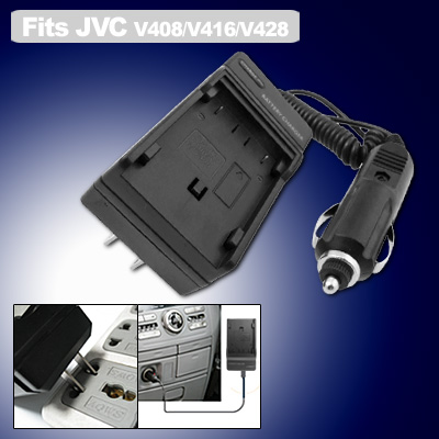 Digital Camera Battery Charger US Plug for JVC BN-V408 BN-V416 BN-V428