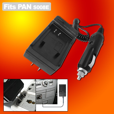 Digital Camera Battery Charger for Panasonic CGA-S008E DMW-BCE10 DMC-FX30