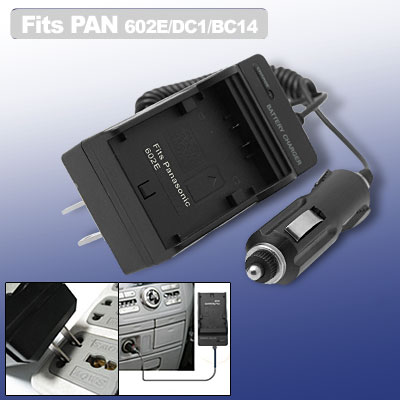Digital Camera Battery Charger for Panasonic CGR-S602E DMW-BC14 Leica BP-DC