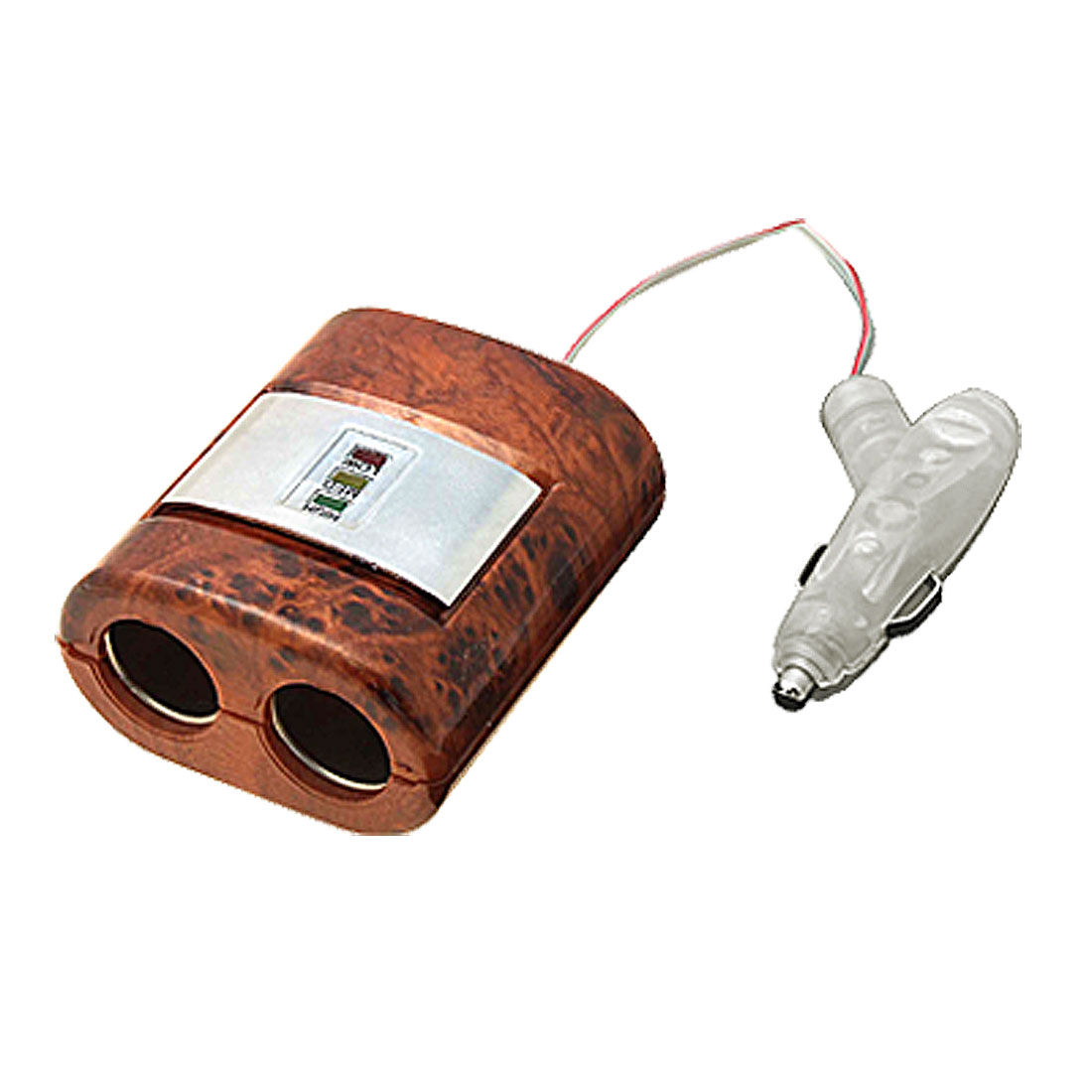 12V Auto Car Vehicle Cigarette Lighter Socket 4 Way Splitter Adapter (AZ-46)