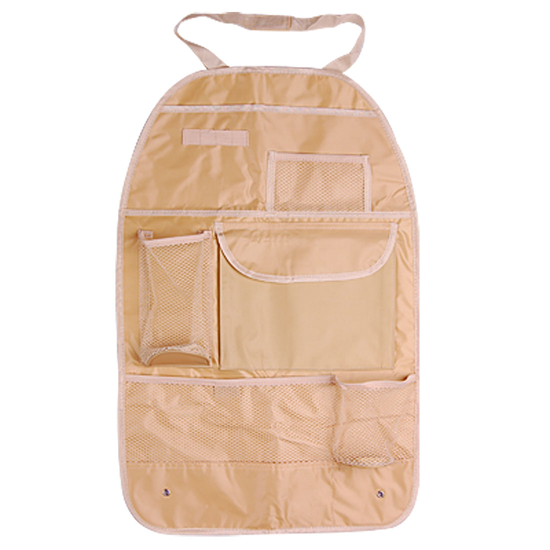 Khaki Trip Car Truck Vehicle Front Seat Backpack Organizer