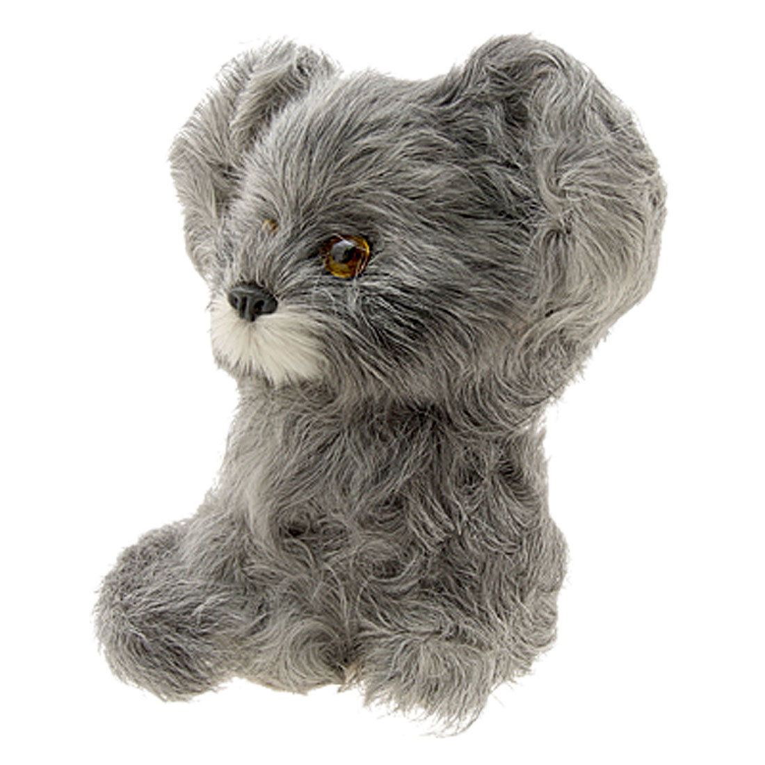 Grey Baby Dog Gifts Decoration Ornament Stuffed Toy