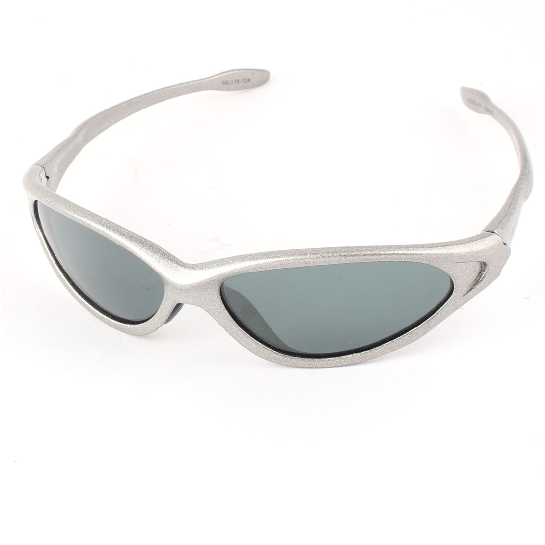 Fashion Polarized Children Sports Sunglasses Silver Frame