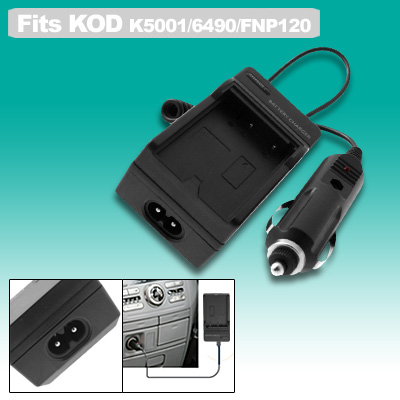 Digital Battery Travel Home Charger for kodak 5001 6490 100V~240V