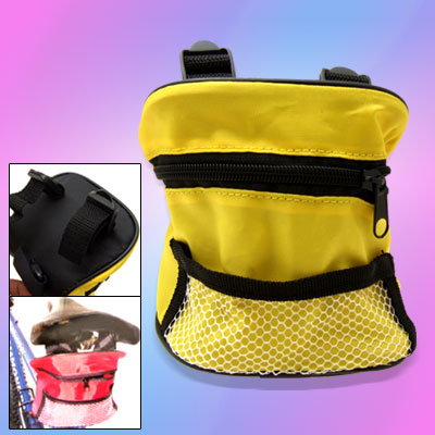 Convenient Zipper Design Nylon Bicycle Bag for Phone 3G Phone Mp3