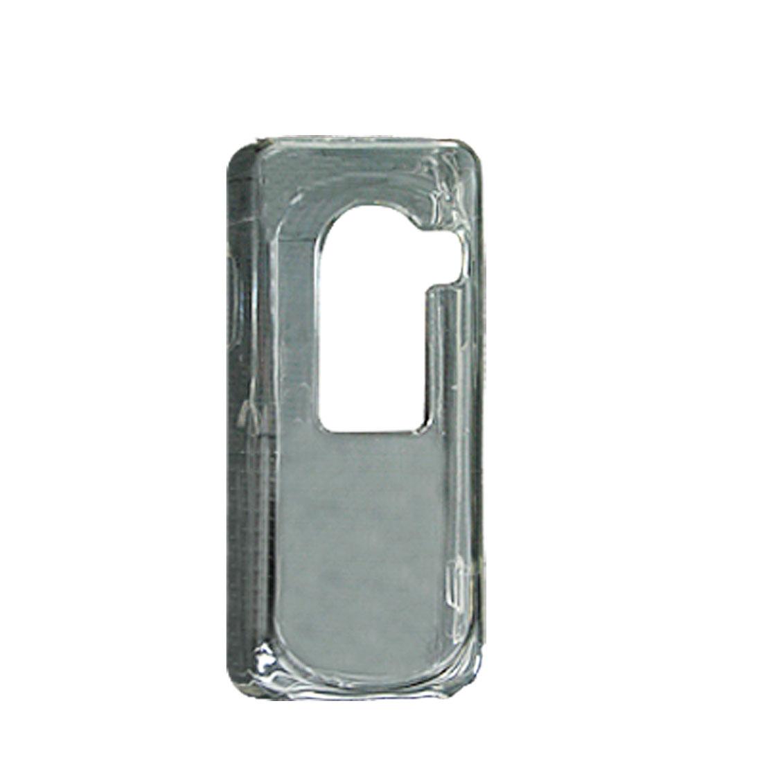 Transparent Plastic Crystal Case for Nokia N73