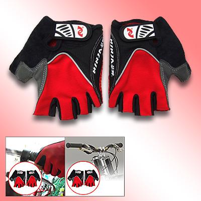 Sports Driving Fingerless Mountain Bike Gloves Medium Size