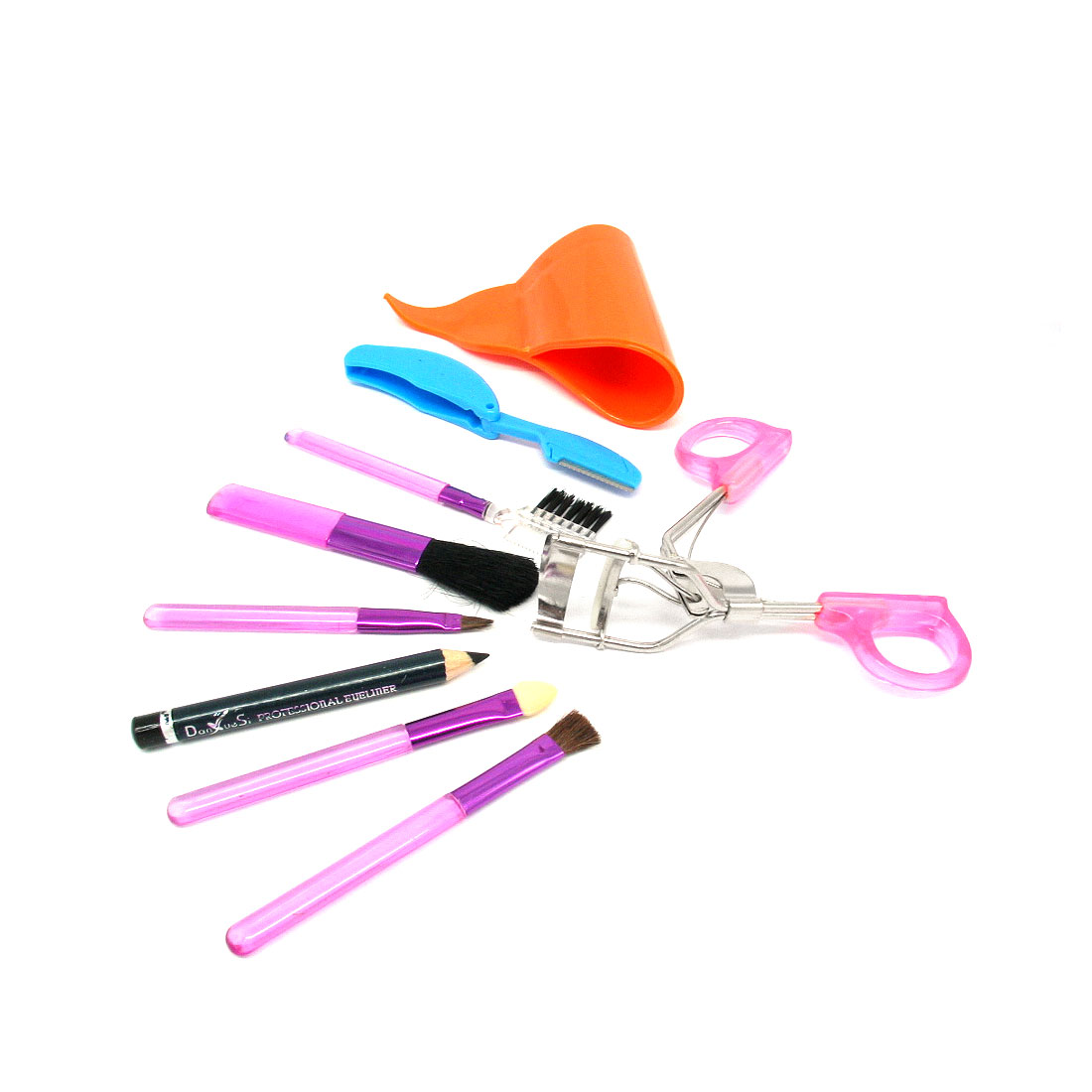 Orange Convenient Whole Set Ladies' Cosmetic Kit Holder