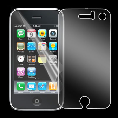 LCD Screen Front Body Protector Film Shield Guard for Apple iPhone 3G