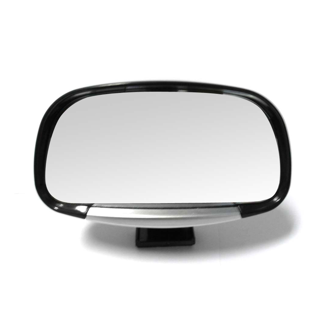 Revolving Convex Car Rear View Blind Spot Mirror Black (3R-081)