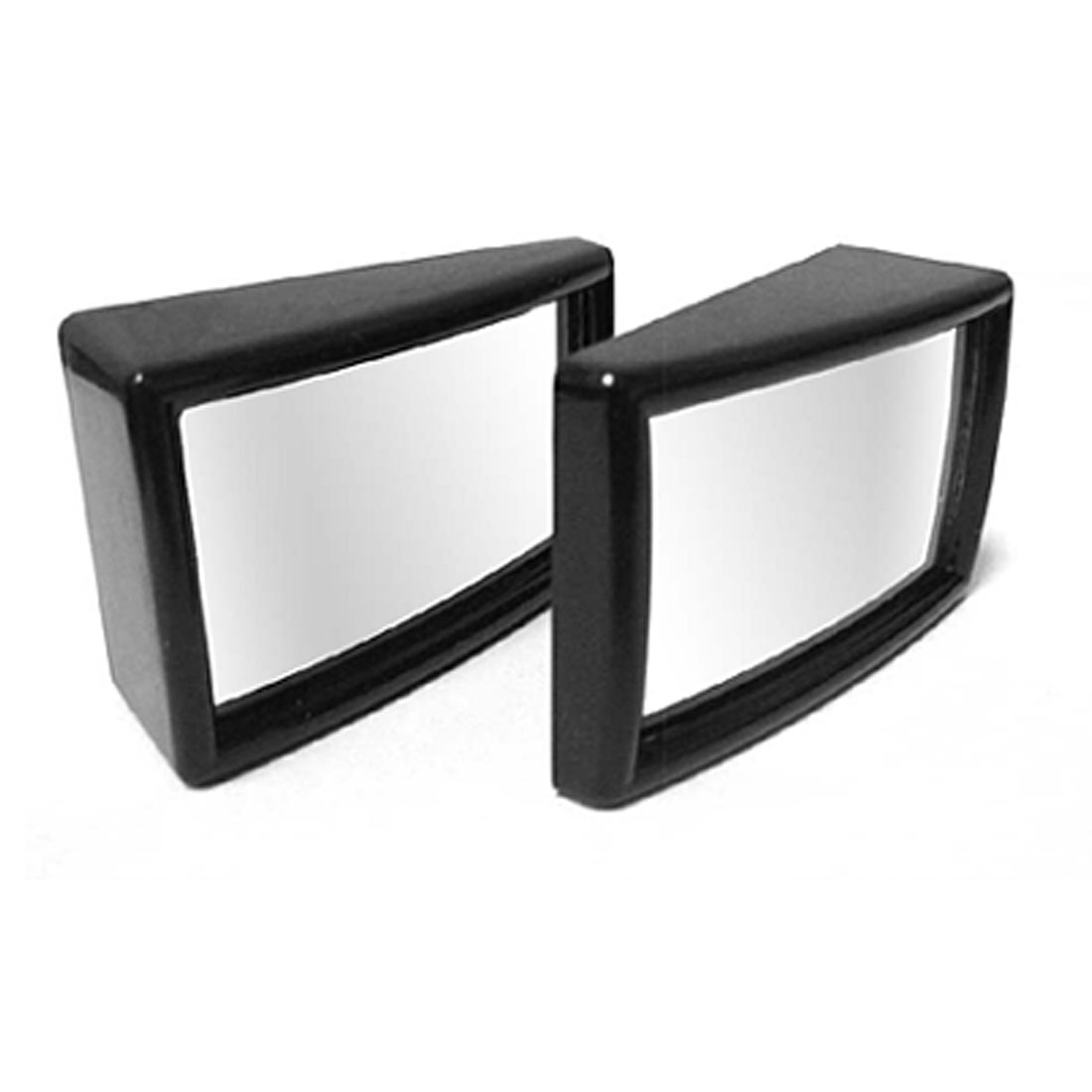 Pair Rectangle Convex Wide Angle Blind Spot Car Mirror