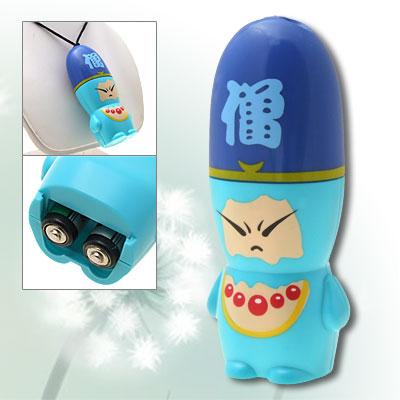 Cute Cartoon Monk Design Portable Battery Cooling Fan