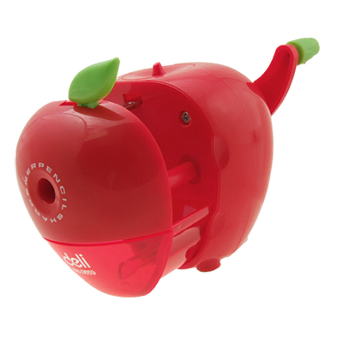 Fashion Cute Like Real Red Apple Plastic Pencil Sharpener