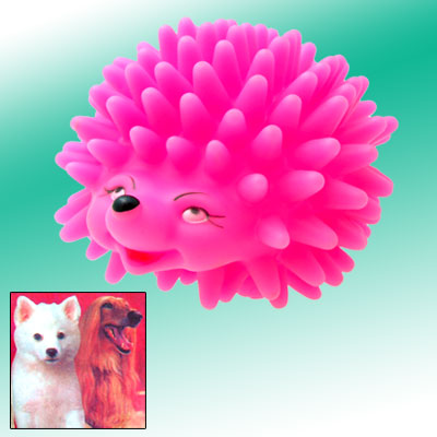 Fashion Lovely Like Real Amaranth Pink Children's Hedgehog Toy