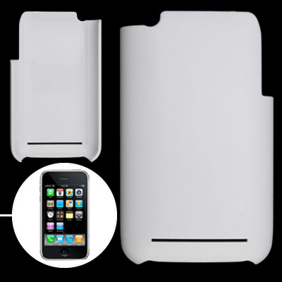 White Hard Plastic Case Cover for Apple iPhone 3G / 3GS