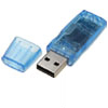 Blue USB Bluetooth Dongle Adapter V2.0 for PC Laptop